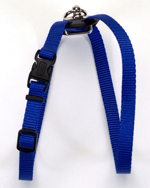 Coastal Size Right Adjustable Nylon Harness Blue 5-8X16-24in