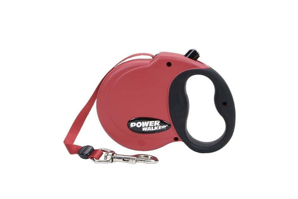 Coastal Power Walker Retractable Leash Red Small.