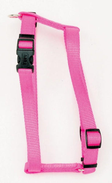 Coastal Standard Adjustable Nylon Harness Neon Pink 5-8X14-24in