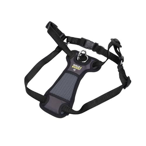 Coastal Pet Walk Right! Padded Front Harness Small Black