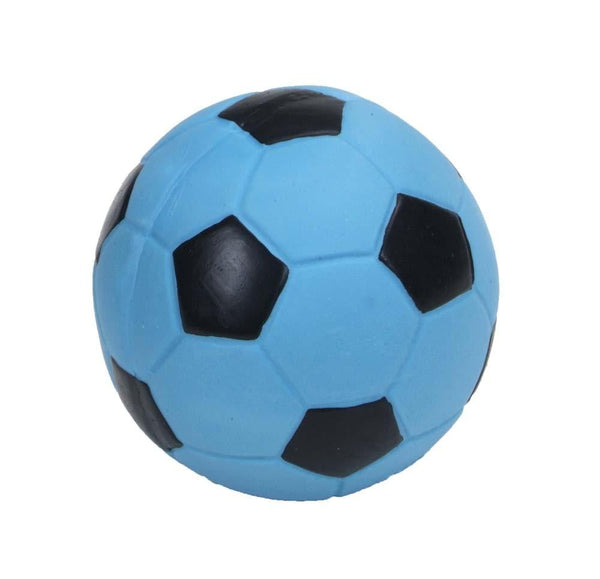 Coastal Rascals Latex Toy Soccer Ball Blue Lagoon 3in.