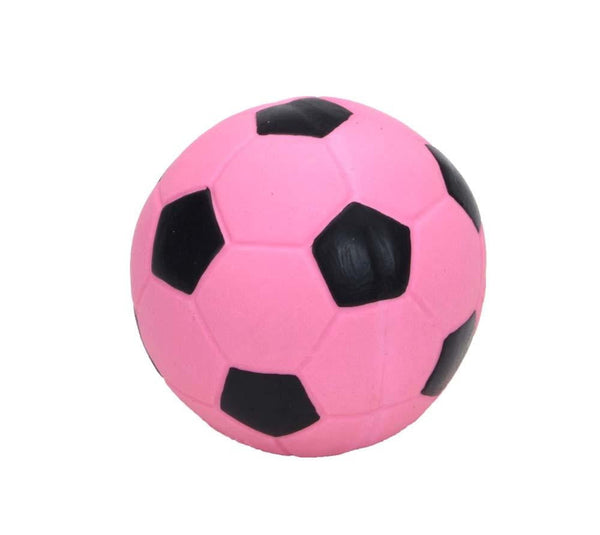Coastal Rascals Latex Toy Soccer Ball Pink 3in.