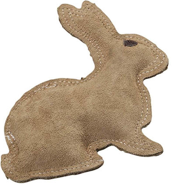 Ethical Products Spot Dura-Fused Leather & Jute Rabbit Small.