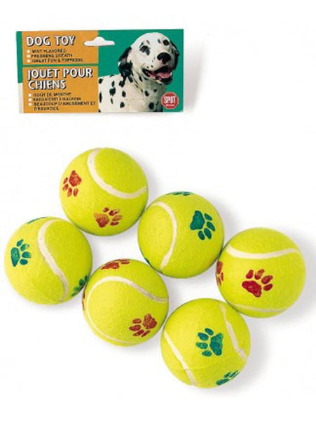 Ethical Products Spot TenNis Ball Value 6pk.
