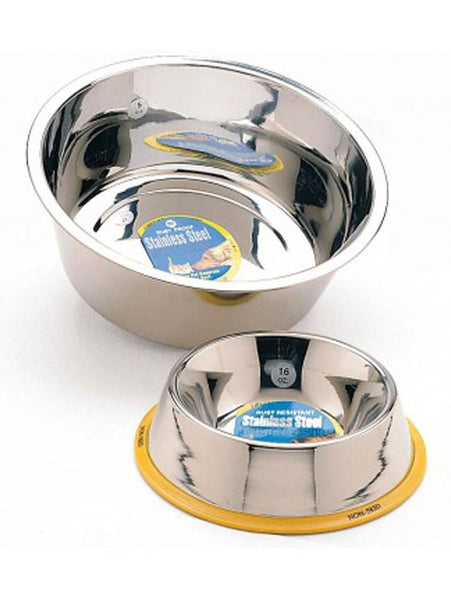 Ethical Products Spot Stainless Steel Mirror Finish No-Tip Dish 96oz