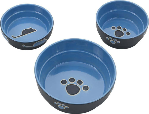 Ethical Products Spot Fresco Dish Dog Blue.