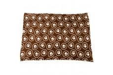 Ethical Snuggler Paws-Circle Blanket Chocolate 40X58.