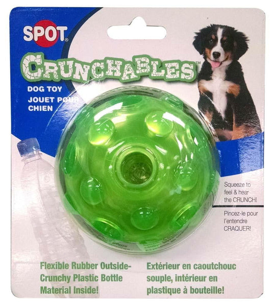 Spot Crunchables Ball 3.5in Asstd