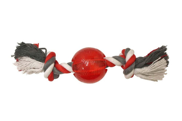 SPOT Play Strong Ball with Rope 3.25In.