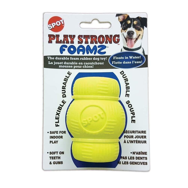Ethical Play Strong Foamz Chew Dog Toy 2.75in.