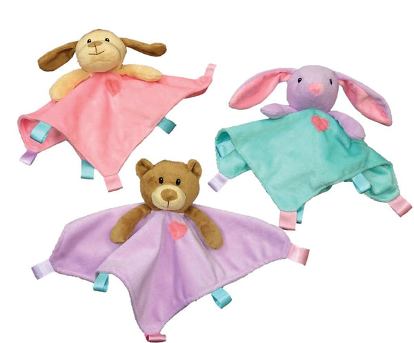 Ethical Soothers Blanket Toys Assorted 10in.