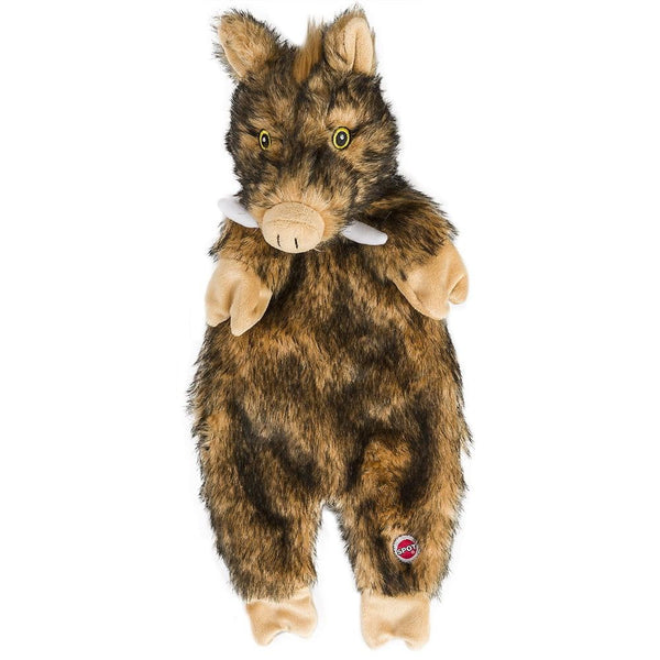 "Ethical  Pet Products Furzz Plush Boar 20""."