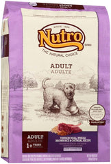 NUTRO WHOLESOME ESSENTIALS  Adult Venison Meal, Brown Rice & Oatmeal Recipe 30 Pounds.
