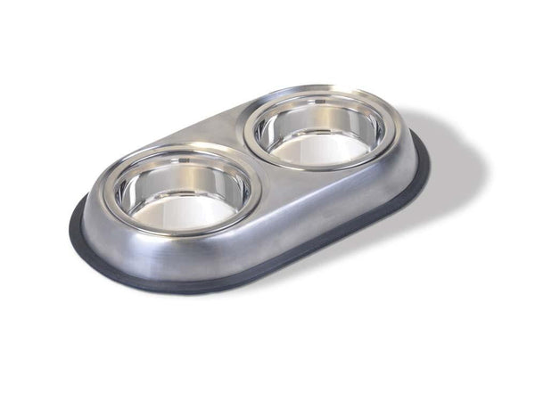 Van Ness Stainless Double dish Small.