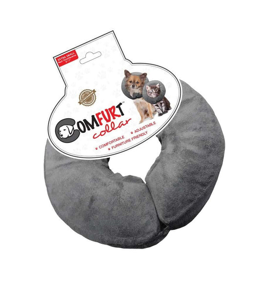 Arlee Comfurt Collar Poly Filled Adjustable E-Collar X-Small 5-7in Neck.