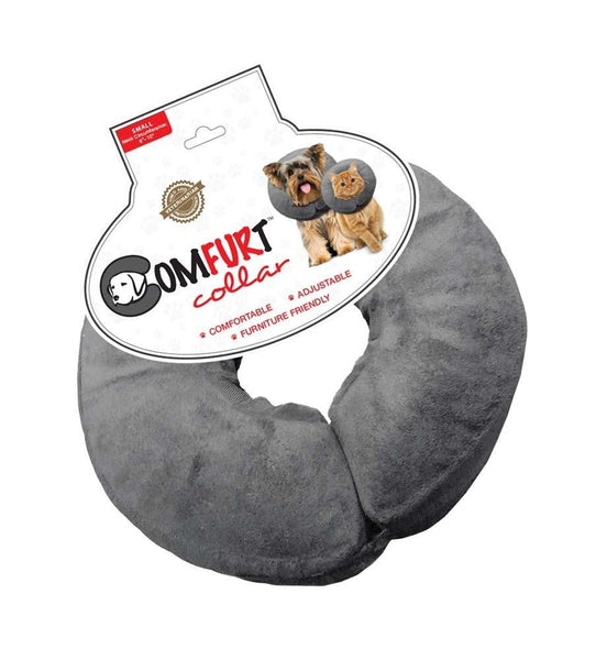 Arlee Comfurt Collar Poly Filled Adjustable E-Collar Small 6-10in Neck.