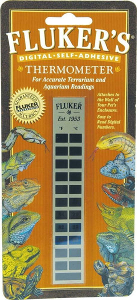 Flukers Digital Self-Adhesive Thermometer.