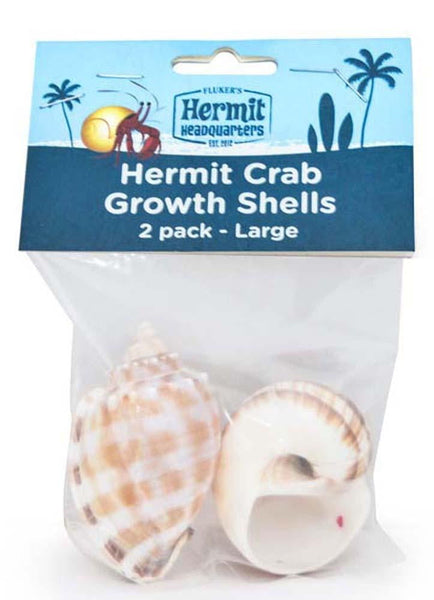 Fluker's Hermit Crab Growth Shells Large 2pk.