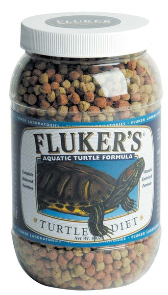 Fluker's Aquatic Turtle Formula Turtle Diet 8oz.