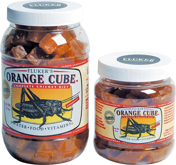 Fluker's Orange Cube Complete Cricket Diet 12oz.