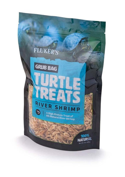 Fluker s Grub Bag Turtle Treat Rivershrimp 6oz