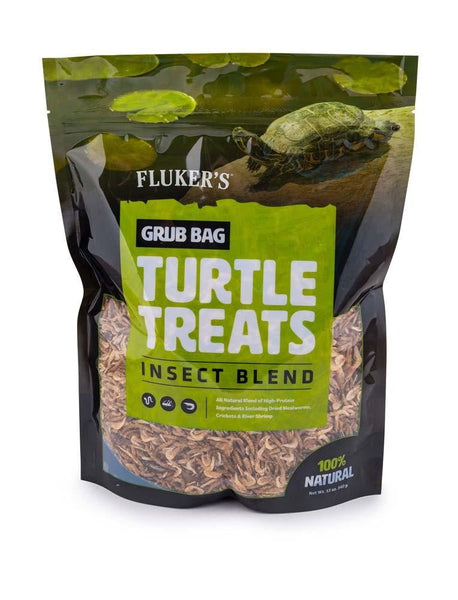 Fluker s Grub Bag Turtle Treat Insect Blend 12oz.