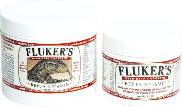 Fluker's Repta-Vitamin with Beta Carotene 4oz.