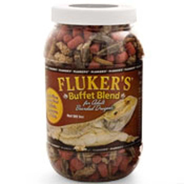 Fluker's Buffet Blend Adult Bearded Dragon Formula 2.9oz.