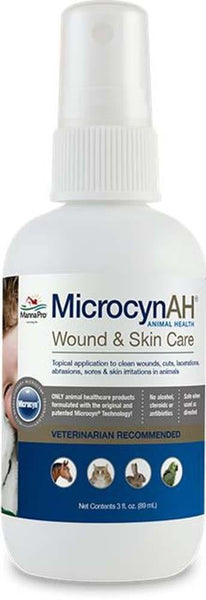 MicrocynAH Wound & Skin Care 3oz.