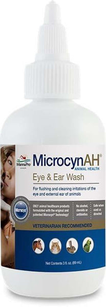MicrocynAH Ear & Eye Wash 3oz.