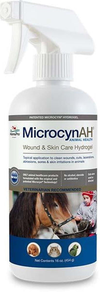 MicrocynAH Wound & Skin Care Hydrogel 16oz.