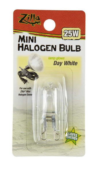 Zilla Halogen Mini Lamp White 25W.