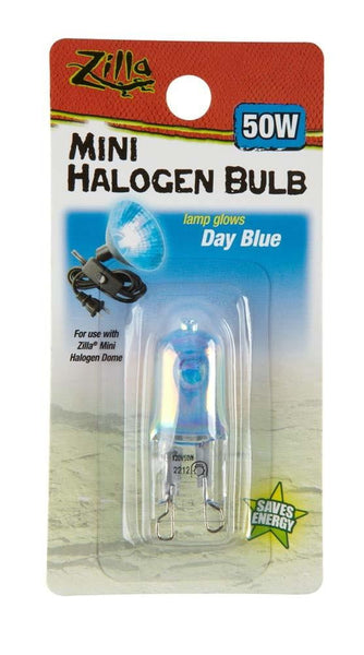 Zilla Halogen Mini Lamp Blue 50W.