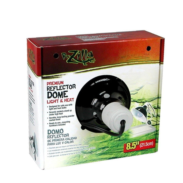Zilla Premium Reflector Dome Light and Heat 8.5in