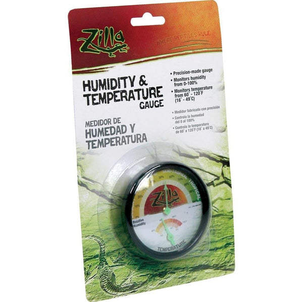 Zilla Humidity And Temperature Gauge.