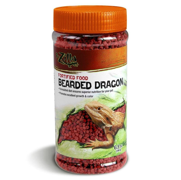 Zilla Fortified Bearded Dragon Food 6.5oz.