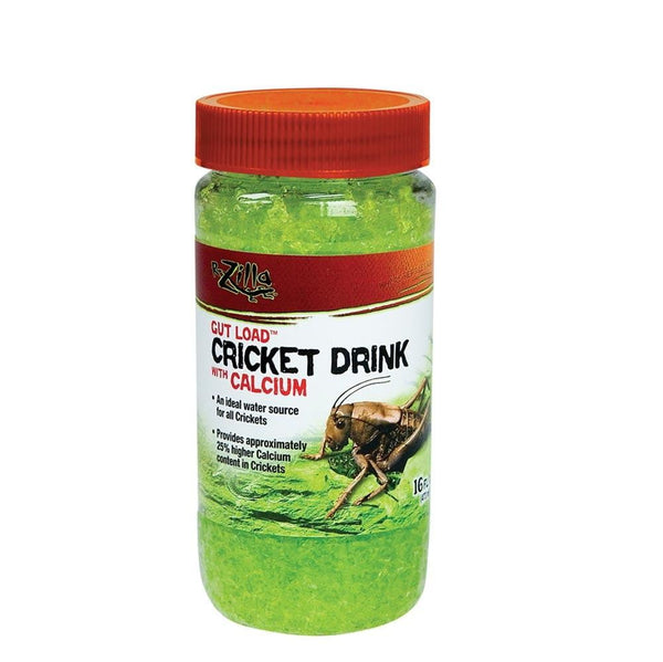 Zilla Gut Load Cricket Drink with Calcium 16oz.
