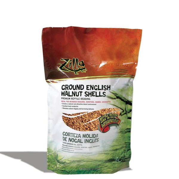 Zilla Ground English Walnut Shells 10qt.
