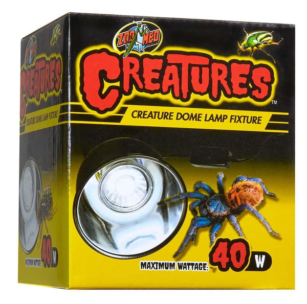 Zoo Med Creatures Dome Lamp Fixture 40watt.