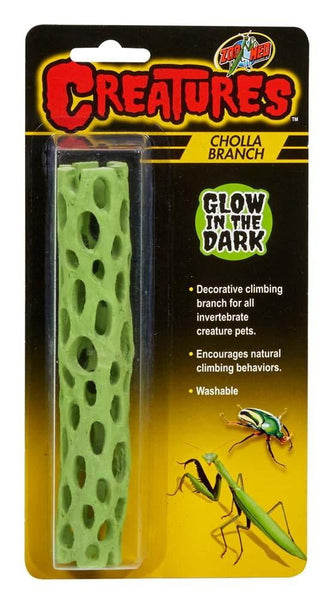 Zoo Med Creatures Cholla Branch Glow in the Dark.
