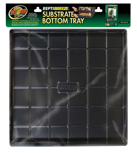 Zoo Med ReptiBreeze Substrate Bottom Tray 18x18.