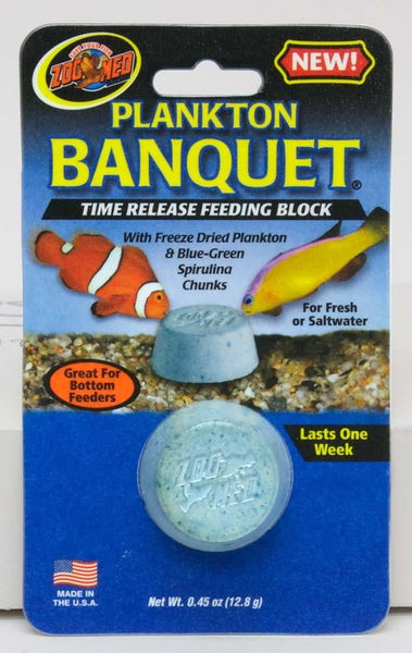 Zoo Med Plankton Banquet Block Regular Bulk 100pc