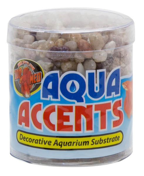 Zoo Med Aqua Accents Light River Pebbles - Leaderpetsupply.com