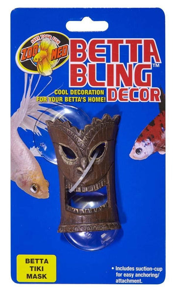 Zoo Med Betta Bling Tiki Mask - Leaderpetsupply.com
