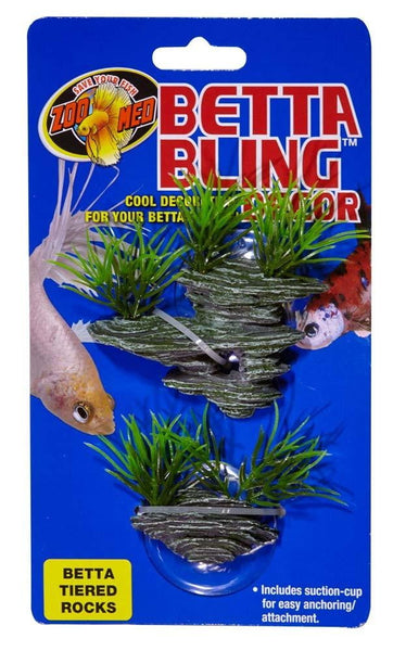 Zoo Med Betta Bling Tiered Rocks.
