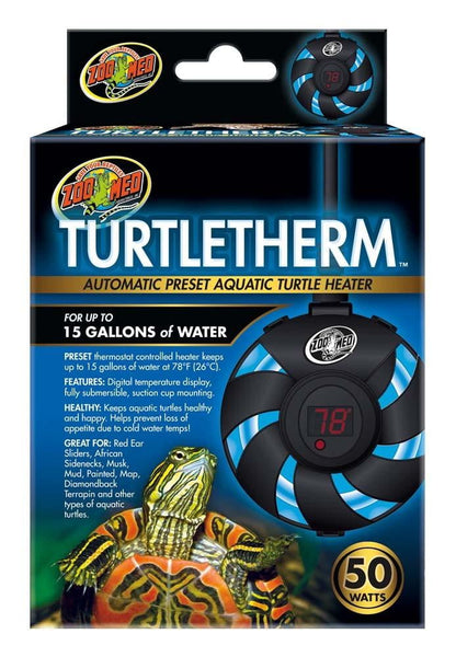 Zoo Med Turtletherm Aquatic Turtle Heater 50watt.