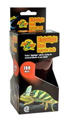 Zoo Med Nightlight Red Reptile Bulb 100W.