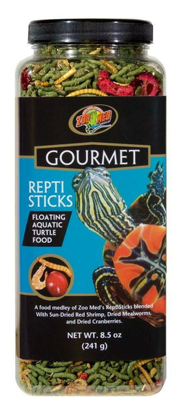 Zoo Med Gourmet Reptisticks 8.5oz