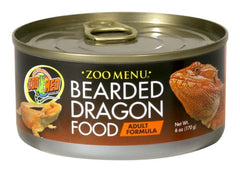 Zoo Med Bearded Dragon Adult Canned Formula Food 6oz.