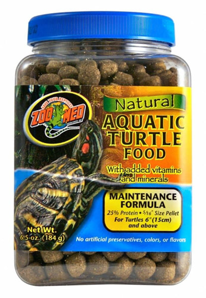 Zoo Med Natural Aquatic Turtle Food Maintenance Formula 6.5oz.